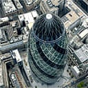30 St Mary Axe, aka the Gherkin, London
