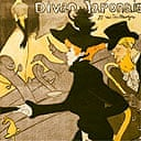 Advertisement for the Divan Japonais by Toulouse-Lautrec