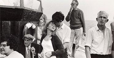 Detail from Beachy Head tripper boat, 1967, by Tony Ray-Jones