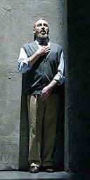Antony Sher in Primo, National Theatre, London