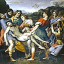 Detail from Entombment of Christ by Cavaliere d'Arpino
