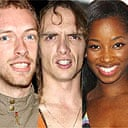 New Band Aid: Coldplay, Darkness, Jamelia