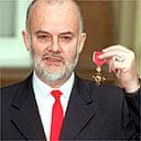 John Peel with OBE, 1998