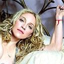 Madonna with Kabbalah bracelet