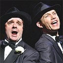 Nathan Lane and Lee Evans in The Producers, Nov 04
