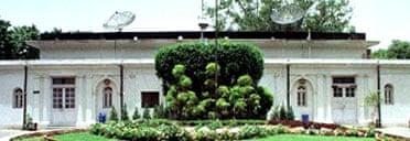 Lutyens bungalow in New Delhi