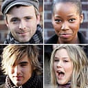 Band Aid 20: Fran Healy, Jamelia, Joss Stone and Charlie Simpson of Busted