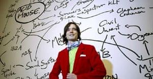 Jeremy Deller just before winning the Turner prize 2004