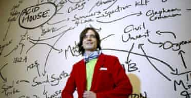 Jeremy Deller just before winning the Turner prize 2004
