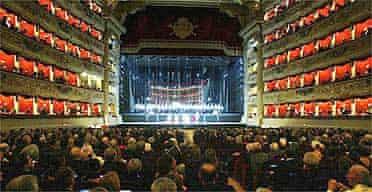 La Scala on opening night