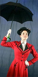 Laura Michelle Kelly as Mary Poppins, Prince Edward Theatre, London