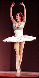 Darcey Bussell performing ballet