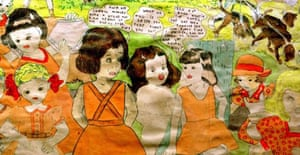 Henry Darger, watercolour