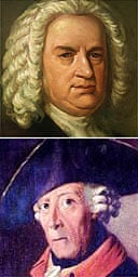 JS Bach and Frederick the Great