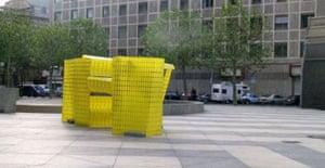 Sculpture by Michael Beutler