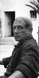 Picasso by Lee Miller