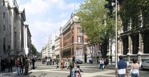 Exhibition Road plan