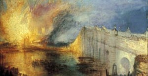 Turner's Burning of the House of Commons