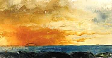 Sunset by Strindberg