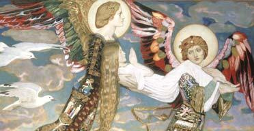 St Bride, by John Duncan