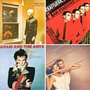 New Wave covers: Gary Numan's Replicas, Kraftwerk's The Man Machine, Roxy Music's Flesh and Blood, and Adam Ant's Prince Charming