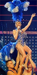 Kylie Minogue, SECC, Glasgow