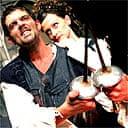 Jason Lee Scott as Macbeth and  Jane Kahler as Lady Macbeth in Shakespeare for Kidz' Macbeth, march 05