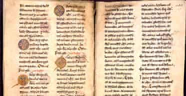 Part of the Benevento missal in the British Library
