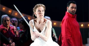 Kathleen Broderick as Brunnhilde in The Twilight of the Gods March April 2005