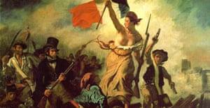 Delacroix's Liberty Leading the People