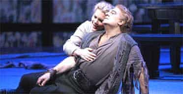Placido Domingo and Michelle Young in Die Walkure