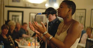 Lizz Wright performing at the Royal Oak