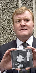Charles Kennedy and his David Bowie CD