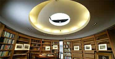 The rotunda, Jerwood Centre, Grasmere