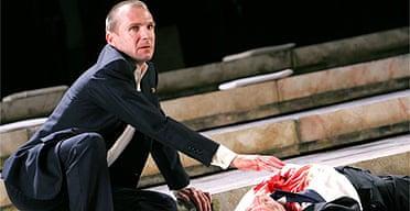 Ralph Fiennes in Julius Caesar
