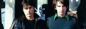 Brett Anderson and Bernard Butler of Suede and the Tears