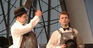 Laurel and Hardy, Royal Lyceum, Edinburgh