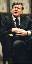 Alan Bennett in Talking Heads, Comedy Theatre, London, 1992