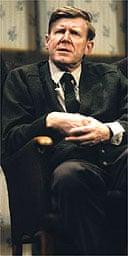 Alan Bennett in Talking Heads, Comedy Theatre, London, 1992