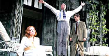 Kevin Spacey, Jennifer Ehle, Philadelphia Story, Old Vic, May 2005