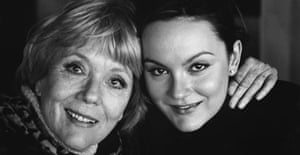 Diana Rigg and daughter Rachael Stirling