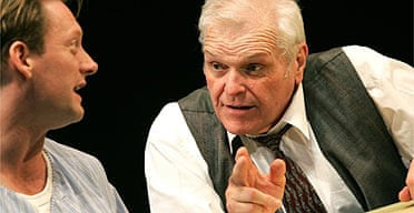 Douglas Henshall and Brian Dennehy in Death of a Salesman