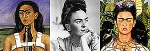 Frida Kahlo tripple