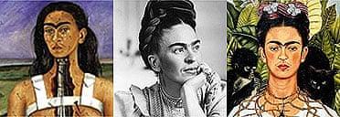 Frida Kahlo tripple