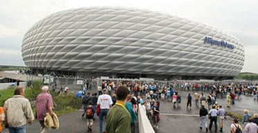 Allianz Arena Football stadium