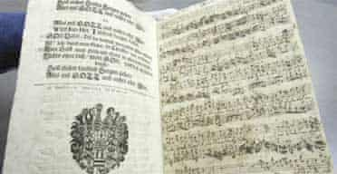 Rediscovered Bach aria