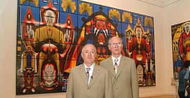 Gilbert and George at the Venice Biennale