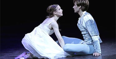 Alicia Amatriain and Friedemann Vogel in Romeo and Juliet, Royal Albert Hall