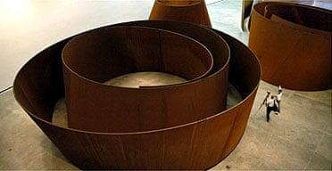The Matter of Time by Richard Serra, Guggenheim Bilbao