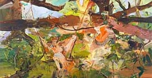 Cecily Brown Girl on a Swing (detail)